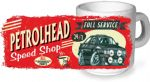 Koolart PERTOLHEAD SPEED SHOP Design For Retro Mk2 Ford Escort RS2000 Ceramic Tea Or Coffee Mug